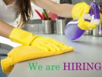 DOMESTIC CLEANERS REQUIRED IN CHISLEHURST!!!!